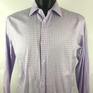 Men's Bugatchi Uomo Button Down Casual Shirt